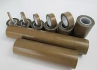 ingrosso nastro adesivo ad alta temperatura-All'ingrosso-0.13mm * 10mm * 10m PTFE Teflon nastro adesivo isolante ad alta temperatura resistere adesivo # A60b