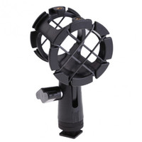 Wholesale Mic Shock Mount - POPLAR Camera Shock Mount Suspension Holder With Hot shoe For Microphone Mic