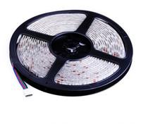 dc mal großhandel-5050 LED Streifen 60leds / m RGB LED Streifen beleuchtet wasserdichtes DC 12V LED Streifen flexibles Band 5050 LED