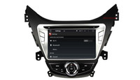 """mp3 tuners 2018 - HD 8"""" Screen 1024*600 Android 4.4 Car DVD for Hyundai Elantra 2011 2012 with Quad Core CPU DVD GPS DVR 3G WiFi"""