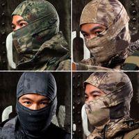 militärische taktische masken großhandel-Boa Style Tactical Military Jagd Outdoor Schnell trocknende Kapuze Gesichtsmaske Sturmhaube Wind-proof Kopfbedeckung Klapperschlange Sturmhaube