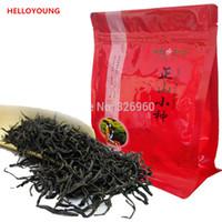 chá de estômago venda por atacado-C-HC033 Chinês Orgânico Top Lapsang Souchong 250g sem fumaça Wuyi Chá Vermelho Quente Estômago Chá Preto