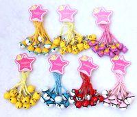 Wholesale mini figures phone for sale - Group buy 50pcs Anime Pikachu figiures Lovely Small pendant Pikachu Pokeball phone strap Keychain Cute Mini bell Action figures