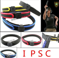 Wholesale Ipsc Shooting Belt - Tactical Airsoft IPSC Special Shooting Belt Competition High Speed Shooting Belt