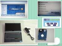 Alldata V10.53 e Mitchell Ondemand V2015 e ATSG Automotive Diagnostic Software estão bem instalados no laptop E6420 pronto para usar.