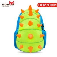 Mochila para crianças Hot Selling Large Capacity Cartoon Blue Green Kids Sacos de escola NOHOO Factory Low Price Back packs Wholesale