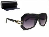 óculos de leitura emoldurados preto venda por atacado-Marca designer óculos de sol homens com caixa UV400 quadro preto moda estilo punk óculos de leitura para Mans
