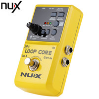 Wholesale Nux Core Pedals - NUX Loop Core Guitar Electric Effect Pedal Durable Guitarra Effect Pedal 6 Hours Recording Time High Quality Guitar Parts
