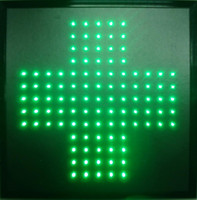 Wholesale Neon Crosses - 2016 Customized led light sign Led Hospital neon sign eye-catching slogans semi-outdoor 19X19 Inch led pharmacy cross signs Wholesale