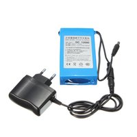 Wholesale 12v Dc Battery Pack - 6800mAh for DC 12V Super Protable Rechargeable switch Lithium-ion Battery Pack US Plug For Cameras camcorders