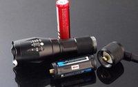 ultrafire cree e17 xml t6 taschenlampe großhandel-G700 E17 CREE XML T6 2000Lumen High Power LED Taschenlampen Zoomable LED Taschenlampen Taschenlampe für 3xAAA oder 1x18650 Akku