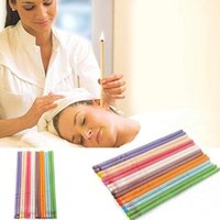 Wholesale Wholesale Therapy Supplies - Ear Candle Indiana Fragrance Therapy Candles Ear Care Supply Relax unwind this safe effective procedure gently remove excess ear wax 8Colors