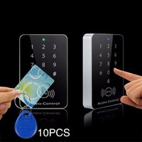 Giantree Rfid Door Controle de Acesso Sistema RFID Card Password Access Controller Keypad Machine Controller Keypad +10 Key Fobs