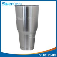 Wholesale Hot explosion models OZ stainless steel with a handle double insulated cup snowman cup