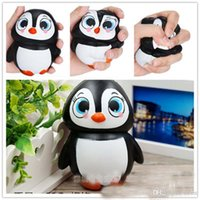 Wholesale Dolls Sales - Hot sale Jumbo Squishy Penguin Kawaii Cute Slow Rising Sweet Scented Vent Charms Kid Toy Doll Gift