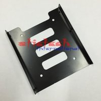 """Wholesale Hdd Mounts - by dhl or ems 1000pcs 2.5"""" to 3.5"""" SSD HDD Metal Adapter Mounting Bracket Hard Drive"""
