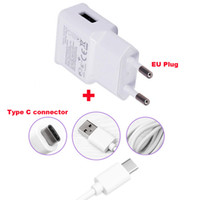 Wholesale Oppo Cell - 2A EU Plug Wall Cell Phone Charger Portable Travel Mobile Phone Charger+Type C USB Data Cable For Oppo Oneplus Two Oneplus 2, Letv Le Max2