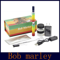 Wholesale Electronic Vaporizers - Bob marley dry herb vaporizer Starter Electronic Cigarette Kit Herbal Vaporizers Pen Vape VS Snoop Dog Pen Pro Kits DHL free 02