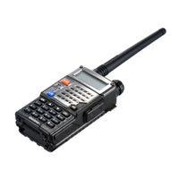 Wholesale portable walkie talkie uhf vhf - Walk Talk BAOFENG UV-5RE Ham Cb Radio Vhf Uhf Two Way Radio Transceiver Talkie Walkie Baofeng Walkie Talkie 10 km Portable Radio
