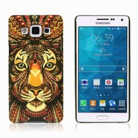 Wholesale Cover Follows - Samsung S6 Following From The King Of Forest The Wind Of Embossment Noctilucent Phone Sets S6EDGE King Case Phone Cover