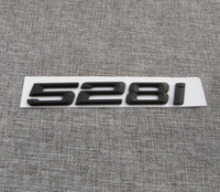 "Wholesale i stickers - Black "" 528 i "" Number Trunk Letters Emblem Badge Sticker for BMW 5 Series 528i"