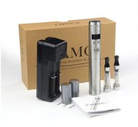 Wholesale Ego Kits Lcd - Vamo V5 starter ego kit with LCD Display Variable Voltage Battery 2X1.6ml CE4 Atomizer Clearomizer Electronic Cigarette vs Vamo V6V7V8 kit