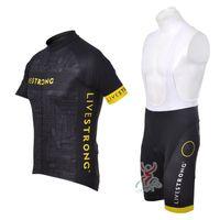 Wholesale Fashion Bike Shorts - short sleeves cycling jersey pro team summer fashion hot sale ropa ciclismo cycling clothing mtb bike wear 2012 livestrong