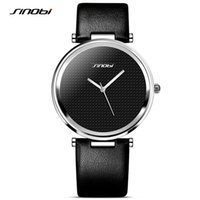 Wholesale Sinobi Watches Quality - New 2016 SINOBI Fashion Women Watch For Brand Ladies Rose Gold Wristwatch Female Quality Clock Minimalist Montre Feminine