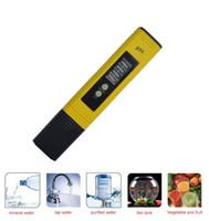 ingrosso tester ph digitali per acqua-Più nuovo LCD protable Digital PH Meter Pen of Tester Aquarium Pool Acqua Vino Urine ph-2 ph-02