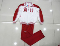 Wholesale Baseball Team Clothing - Bosco sports clothing Russian Sochi Forward national team two piece sports jacktes pants men's coat sports sets Tracksuit female Yuri on ice