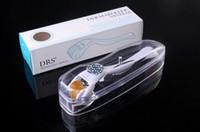 Wholesale dermaroller system resale online - 20pcs DRS micro needles derma roller skin dermaroller Skin Care Microneedle Therapy Nurse System