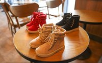 Wholesale Kids Fashion Boots Cheap - 2016 baby fashion boots Martin 26-30 yards zippers boys and girls casual boots wear-resistant non-slip Cheap kids shoes 5pair 10pcs B1