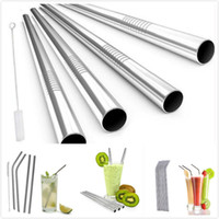 Wholesale Wholesale Reusable Coffee Cups - 20oz 30oz Straws Stainless Steel Suckers Brush for 20oz 30oz Tumblers Drinking Reusable Straw Durable Sucker Mugs Cups for Juice Coffee