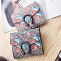 Wholesale Excellent Quality Purse - Excellent Quality Womens Wallet Vintage Womens Bifold Money Bag Card Holder Bifold Female Wallet Purse For Gift 2016 New