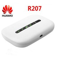 Wholesale Mobile Vodafone Unlocked - Unlocked Vodafone R207 Huawei E5330 21.6 Mbps HSPA+ 3G UMTS 900 2100MHz Wireless Router Pocket Wifi Dongle Mobile Broadband