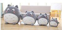 Wholesale Toy Ca - 50cm Kawaii My Neighbor Totoro Plush Toy Cute Soft Doll Totoro with Lotus Leaf Kids Toys Ca