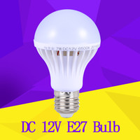 Wholesale E27 12 - E27 LED Bulb for Solar Systerm DC 12V Led Lamp Lamparas E27 12 volt Bulb 3W 5W 7W 9W 12W Enery Saving lampada