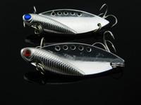 Wholesale Walleye Jigs - 1Pc Fishing Lure Blade Lure Metal VIB Hard Bait Fresh Water Shallow Water Bass Walleye Crappie Fishing Tackle