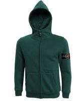 Wholesale Mens Hooded Cardigans - hot sale 2015 new arrival mens island cardigan hoodies sweatshirt casual cotton sportswear mens stone jacket hoody plus S-3XL