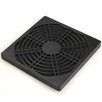 filtro de poeira do ventilador da caixa venda por atacado-Atacado- 1 peça 12CM guarda de computador preto plástico Poeira à prova de poeira Filterable 120 mm PC Case ventilador Cooler Filter Cover w / espuma, 125 x 125 mm