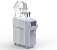 máquina facial de qualidade venda por atacado-Alta Qualidade Multi-Funcional Microcorrente Oxigênio Facial Beauty Machine Oxigênio Spray e Infuse Bio-photon RF Máquina Supersônica
