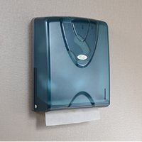 Wholesale Tissue Box Holder Wall Mount - Wholesale- Hot Sale Toilet Wall Mounted Paper Holder Modern Square Paper Box Hotel Plastic Paper Tissue Box Bathroom Accessories