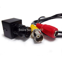 Wholesale Small Industrial Camera - CCD 540TVL high resolution UAV FPV camera mini for RC airplanes helicopter Small Size 20x20mm 2 boards Mini Camera Industrial camera