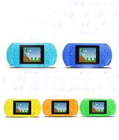 Wholesale Color Box Game - Video Games Portable Player Digital Pocket Console System Tv Out Games Built Card Retail Box Color Screen Fancy Handheld Consoles Cool Boys