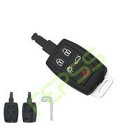 volvo araba anahtarı kabuğu toptan satış-Küçük bir anahtar ile yeni anahtar kabuk Volvo C30 C70 S40 V50 2008-2011 5 düğme araba anahtarları uygulayın
