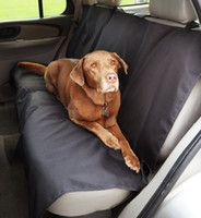 Wholesale Car Seat Covers For Dogs - Free Shipping Black Waterproof Car Bench Seat Cover for Pets