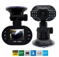 Wholesale Blackbox Hdmi - Full HD 1080P Car DVR Dash Camera Recorder Car Camera Night Vision Wide Angle Lens Registrator Blackbox G-sensor HDMI Dash Cam