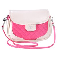 Wholesale Wholesale Quilted Leather - Wholesale-Feitong Popular Women Mini Bags 2016 Fashion Girls Series Quilted Crossbody Bag PU Leather Handbag Tote Bags bolsas femininas