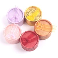 Wholesale Princess Display - 4.5 cm Bow Gift Boxes Jewelry Display Ring Boxes For Sale Earring Boxes Princess Crown Jewelry Box Wholesale Round Cardboard Gift Boxes