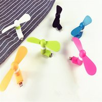 Wholesale 5s China Phone - 2016 New Gadget Mini Portable Micro USB Fans For iPhone 6 6S Plus 5S Fans all Apple Phone  ipad GSCP0455